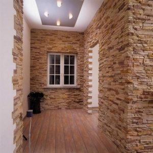 Преображение комнаты при помощи природного камня